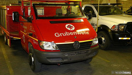 Grubenwehr dämmt Schwelbrand ein - Keine Verletzten
