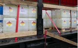 Gefährlicher Gefahrenguttransport: LKW mit erheblichen Mängeln