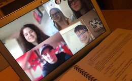 Bildschirm statt Bühne: Ehringshäuser Jugendtheater probt Stück über Skype