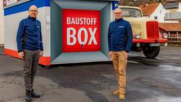 Neue Leinweber-Baustoffbox in Schlitz: Bisher weißer Fleck auf der Landkarte
