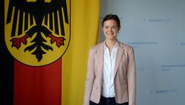 Theresa Schultheiß erste Ingenieurin bei der Bundespolizeiabteilung