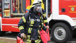 Feuer im Industriegebiet: Eine Person wird vermisst