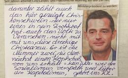 Thüringens CDU-Spitzenkandidat erhält Morddrohung - Der nächste mit Kopfschuss