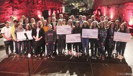 200 Schüler präsentieren Projekte zu 30 Jahre Mauerfall im Erlebnisbergwerk