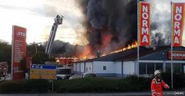 Nach Großbränden in Supermarkt: 45-jährige Frau ab Januar vor Gericht