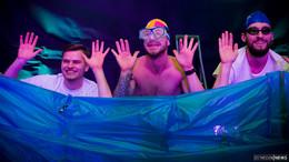 Was ein Karneval-Event: Nacht der Britannen im Eichenzeller Sporthaus