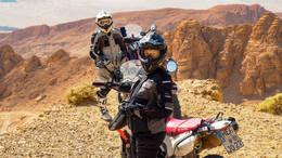 Mit dem Motorrad durch die Welt: Paar lebt derzeit ihren Lebenstraum