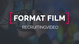 Bewegt überzeugen: Recruiting-Video von FORMAT.FILM für mehr Bewerbungen
