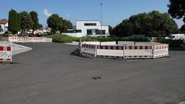 Ende in Sicht: Bauarbeiten am Stadion in den letzten Zügen