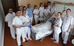 Krankenpflegeschüler leiten zwei Wochen Station 2c am Eichhof-Krankenhaus