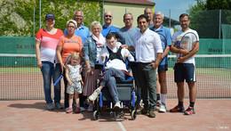 Tennisclub Künzell feiert zwei Jubiläen mit einer Spendenaktion
