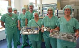 Eichhof-Klinik investiert 200.000 Euro in neues OP-Besteck