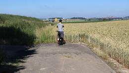Und plötzlich ist Schluss: Möglicher Radweg nach Fulda endet im Feld