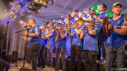 Künzeller Weinfest beliebter denn je - GVK-Musiktruppe zum Abschluss