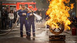 Eine 24-Stunden-Schicht wie echte Feuerwehrleute