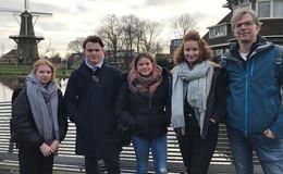 ESS-Schüler bei Erasmus+ Projekt in Holland - Themenschwerpunkt Wasser