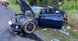 Schwerer Unfall auf der A7 mit vier Verletzten