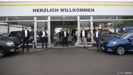 Enders Automobile eröffnet großes Gebrauchtwagenzentrum