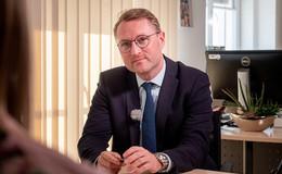 In häuslicher Isolation: Vize-Landrat Jens Mischak positiv getestet
