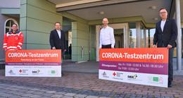 Corona-Testzentrum im Bürger- und Tourismuszentrum öffnet