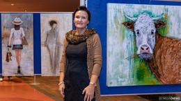 Edeltraud Auth stellt Werke im Mediana Pflegestift aus
