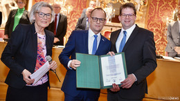 39 Stadtverordnete sagen JA: Bürgermeister Dag Wehner wiedergewählt