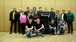 Spende des Lions Club Hünfeld an die Wigbertschule