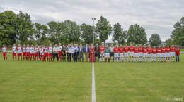 Fußball-Fest nach Polizei-Show: Stadion Oberau feierlich eingeweiht