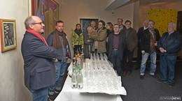 Vernissage in der Karpfen-Galerie: Abstrakte Kunst, die Emotionen weckt
