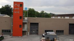 Neubau der Feuerwehrwache liegt im Zeitplan