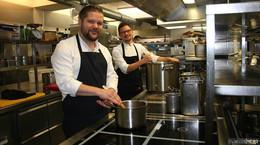 Constantin Kaiser und Toni Schoch sind die neuen Küchenchefs im Stern