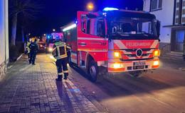 Feuerwehreinsatz am späten Sonntagabend: Keine Verletzten!