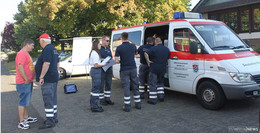 Erster Betreuungszug vom DRK Kreisverband Alsfeld übte in Kirtorf