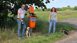 Neue Beutel-Stationen in Reilos: Maßnahmen gegen illegale Hundehäufchen