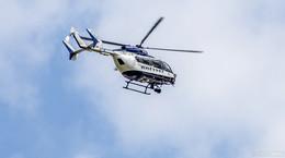 Hubschrauber im Einsatz: Polizei sucht nach 34-jährigem Mann