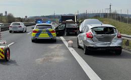 Auffahrunfall auf der A66: zwischen Neuhof-Nord und Flieden