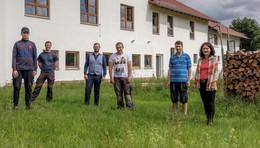 Großzügige Spende: Giebel am Theresienhof erstrahlt wieder in vollem Glanz