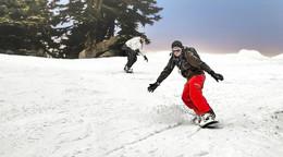 Snowboarder stürzt schwer und muss ins Fuldaer Klinikum geflogen werden