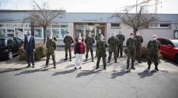 Soldaten helfen im Kampf gegen die Pandemie: Ohne Sie geht es nicht mehr