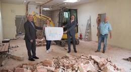 Unterhaun: Landkreis saniert Grundschulturnhalle für 1,27 Millionen Euro