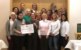Lions-Damen spenden 5.000 Euro für Palliativ-Oase in Hanau