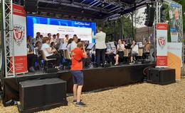 400 Musiker aus ganz Hessen bringen den Hessentag zum Klingen