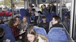 600 Schüler als ehrenamtliche Buslotsen an Hessens Schulen tätig