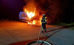 Mehrere Feuerwehreinsätze in der Nacht - War es Brandstiftung?