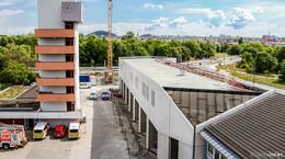 Feuer und Flamme für die neue Leitstelle: Großprojekt liegt voll im Plan
