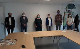 Grüner MdL Markus Hofmann beim BeSt-Projekt der Hochschule Fulda