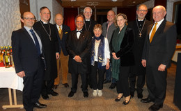 Letzter synodaler Neujahrsempfang
