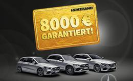 Bis 31.3. bei Kunzmann: 8.000 Euro + Inzahlungnahmepreis