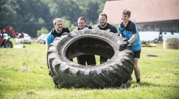 Fußball-A-Ligist kommt beim Bootcamp auf dem Bauernhof ins Schwitzen