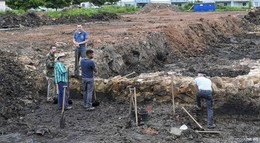 Wie lebten die ersten Fuldaer? - Ausgrabungen in der Langebrückenstraße